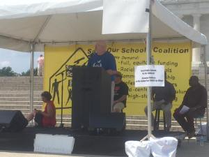 Brett Bigham, Oregon's 2014 TOY, Speaks at Save Our Schools Rally