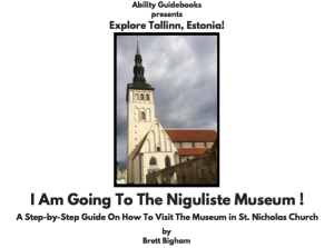 Cover-Niguliste-Museum: Brett Bigham's Autism Guidebooks for Sites Around the World